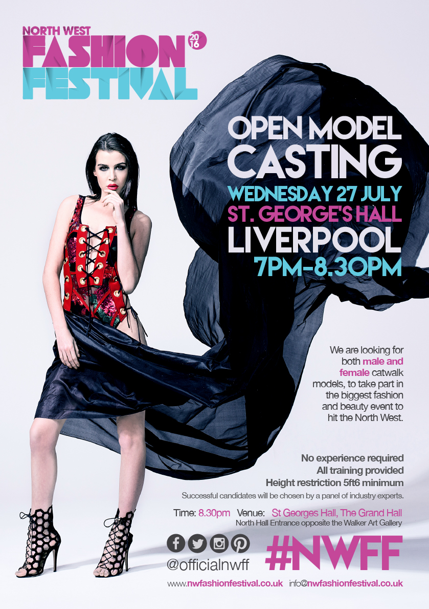 The North West Fashion Festival Adult Model Casting